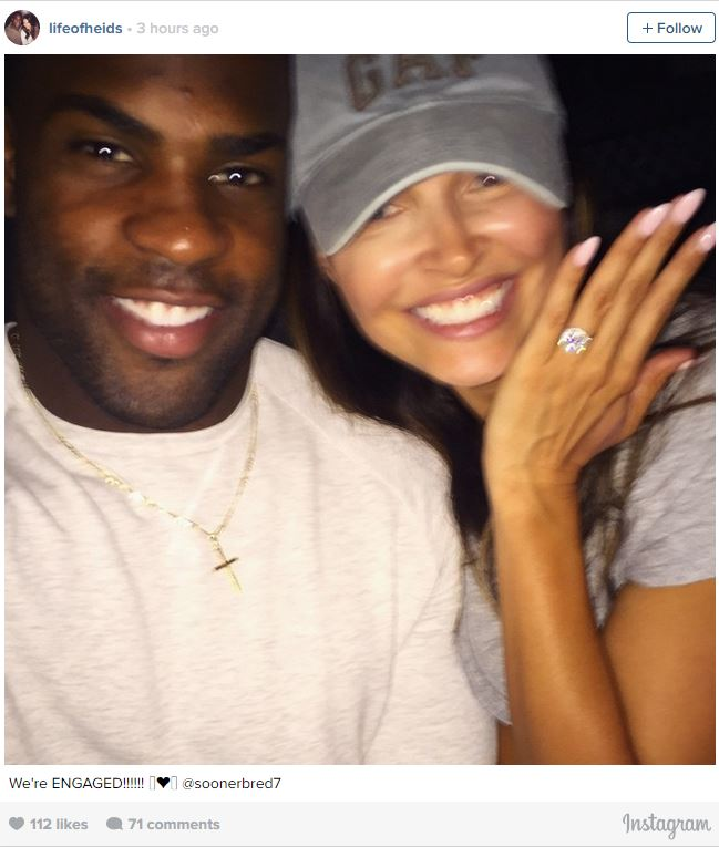 demarco murray engaged