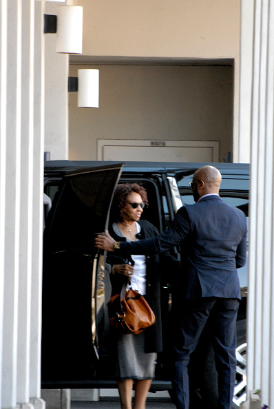 Cissy Houston Visits Bobbi Kristina Brown At Emory University Hospital