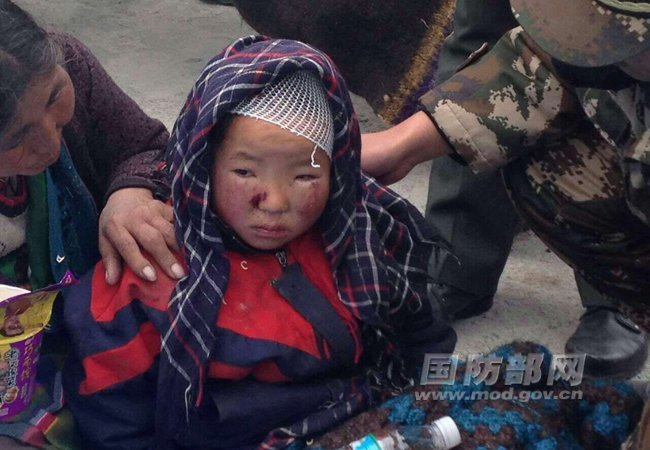 China's paramilitary Armed Police forces have rescued more than 100 local residents and relocated about 1,500 others two quake-affected counties in Shigatse Prefecture located inside Tibet Autonomous Region bordering Nepal.
