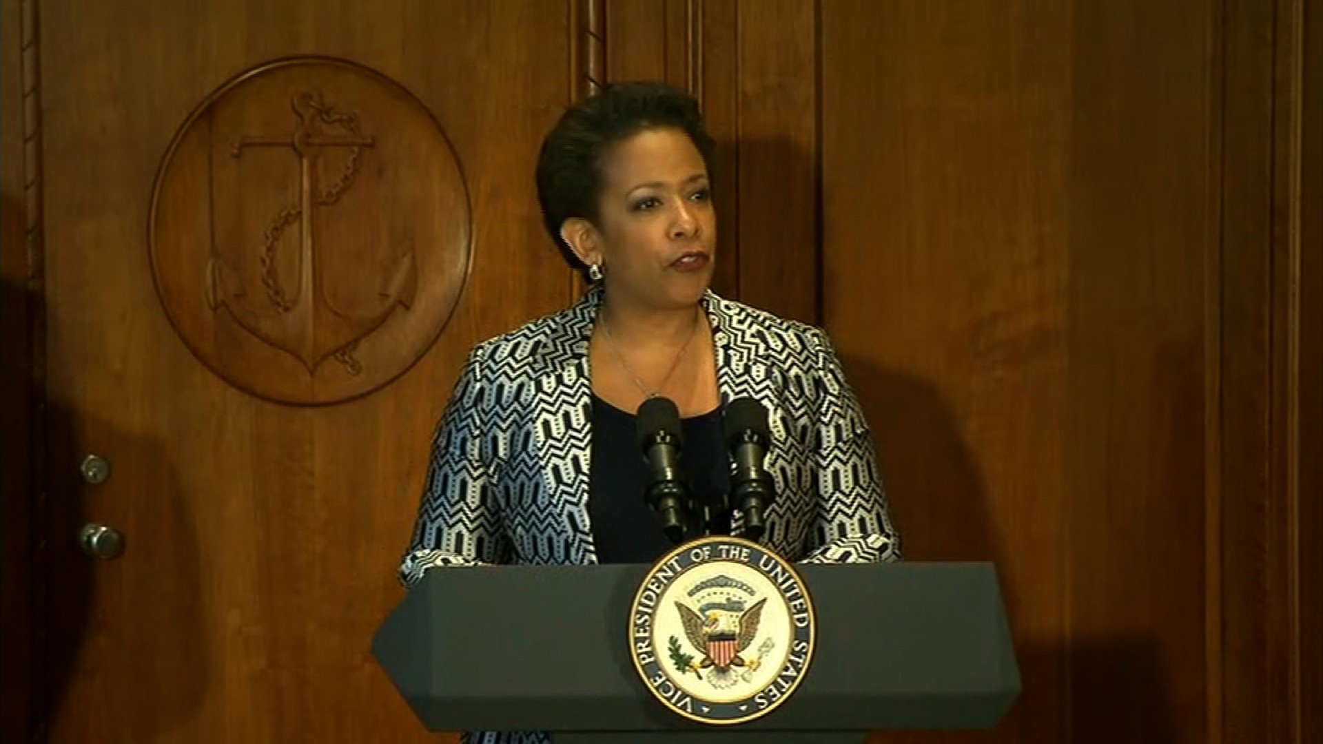 Loretta Lynch makes history
