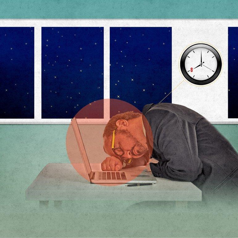 40-hour work week graphic