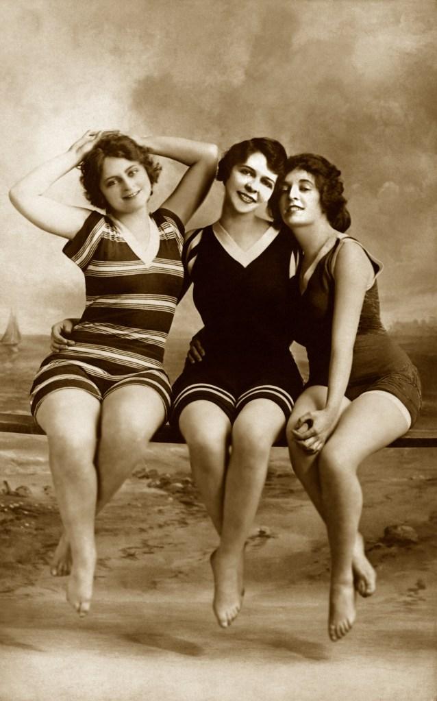 Women in bathing suits