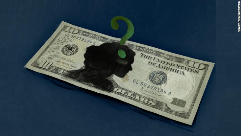 10 dollar bill woman