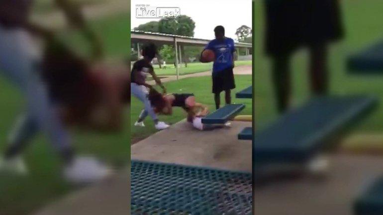 rowlett girl fight