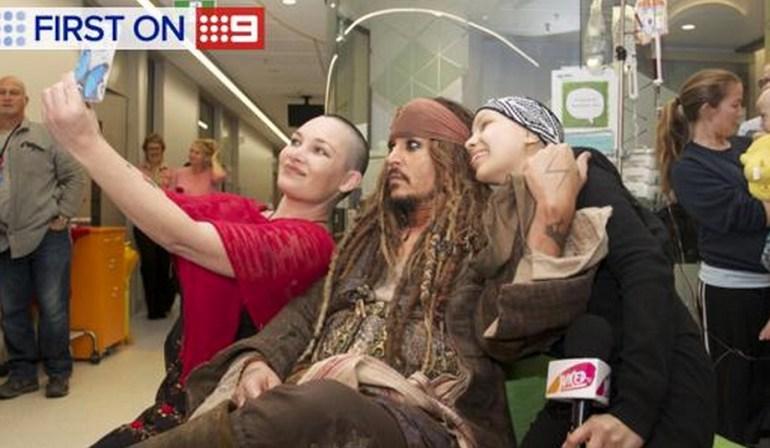 Johnny Depp Hospital Visit Jack Sparrow