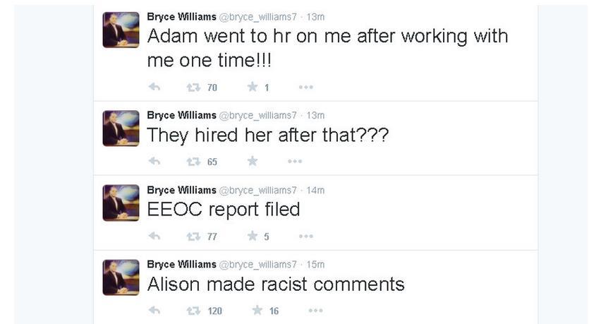 bryce tweets