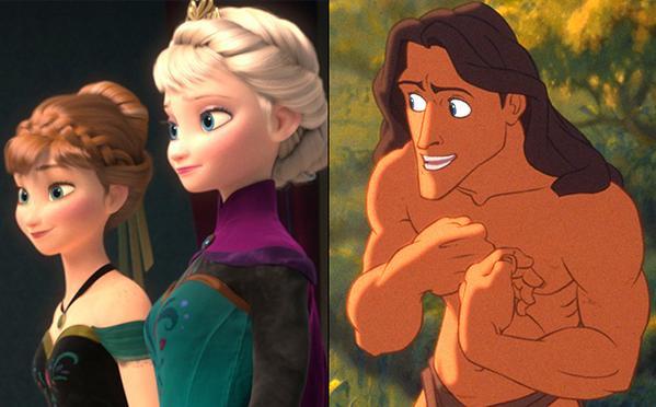 Frozen Tarzan