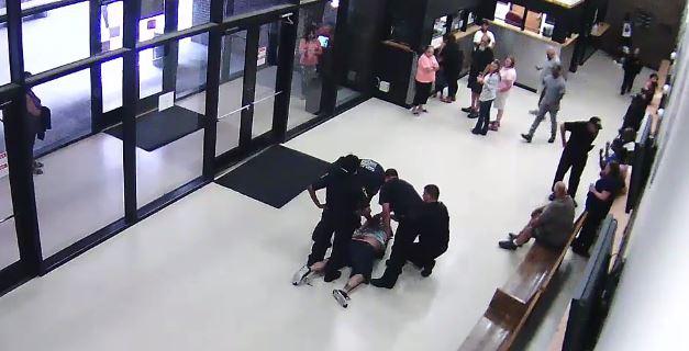 jail lobby death