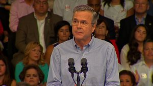 Former Florida Governor Jeb Bush announced his candidacy for the Republican presidential nomination in Miami, Florida on June 15, 2015.