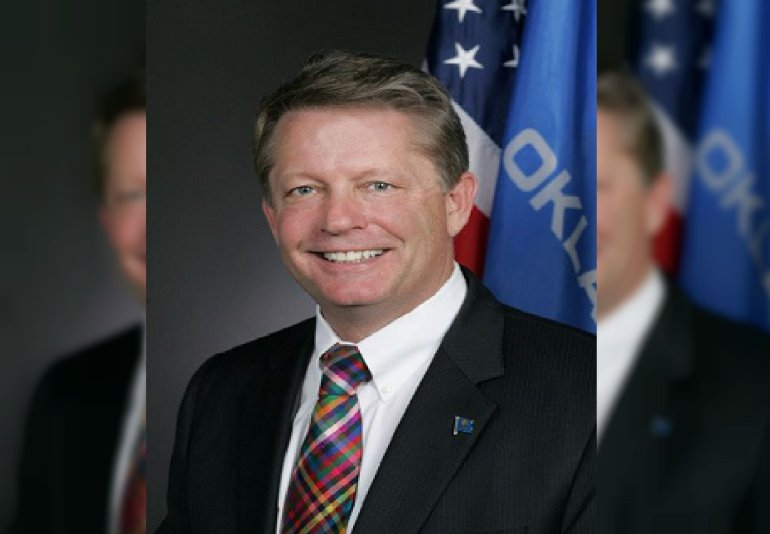 Oklahoma Labor Commissioner Mark Costello was fatally stabbed at a restaurant Sunday, August 23, 2015 night by his son, police said. Mark Costello was at a Braum's restaurant when he was stabbed in the head and neck, police told CNN. He died at a local hospital. Costello's 26-year-old son, Christian Costello, was arrested in the parking lot.