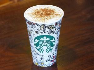 Starbucks Toasted Latte