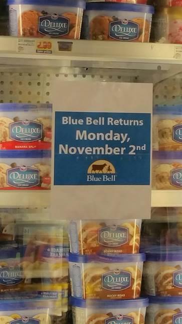 blue bell returns