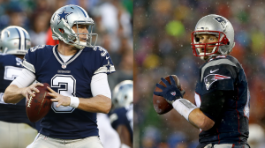 Brandon Weeden (an 0-2 starter this year) will face his biggest test yet, going against Tom Brady and the undefeated Patriots.