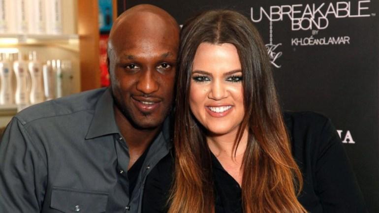 Lamar Odom & estranged wife Khloe Kardashian