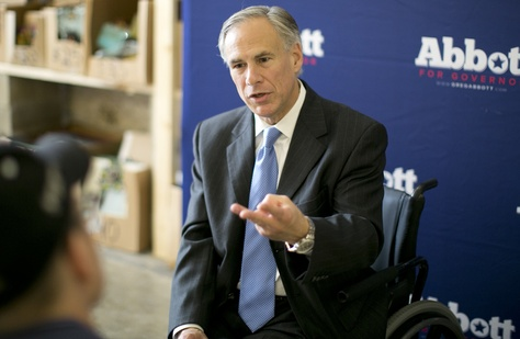 "Gov. Greg Abbott proposed reforms against ""sanctuary cities"" he wants Texas lawmakers to consider in the 2017 legislative session. (Credit: Marjorie Kamys Cotera The Texas Tribune)"