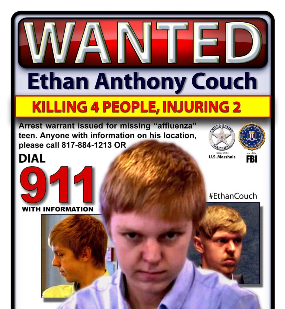 ethan couch wanted flier