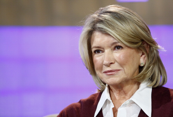 "TODAY -- Pictured: Martha Stewart appears on NBC News' ""Today"" show -- (Photo by: Peter Kramer/NBC/NBC NewsWire via Getty Images)"
