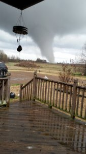Wiley DeLoach snapped this picture from his backyard in Clarksdale, Mississippi.