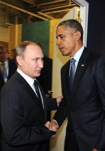 Russian President Vladimir Putin had a meeting with US President Barack Obama on the sidelines of the UN Climate Change Conference in Paris.