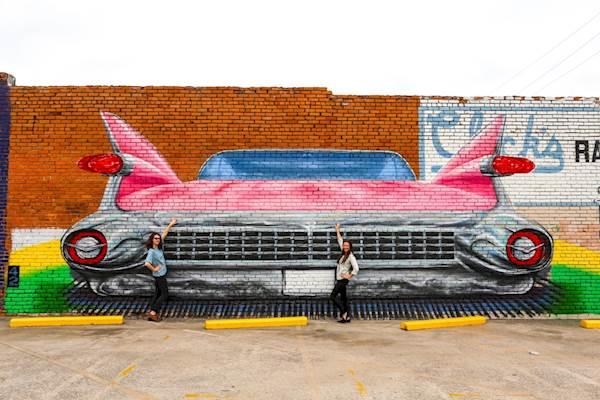 Photo: Hillary Juster Mural: Jashua Davies