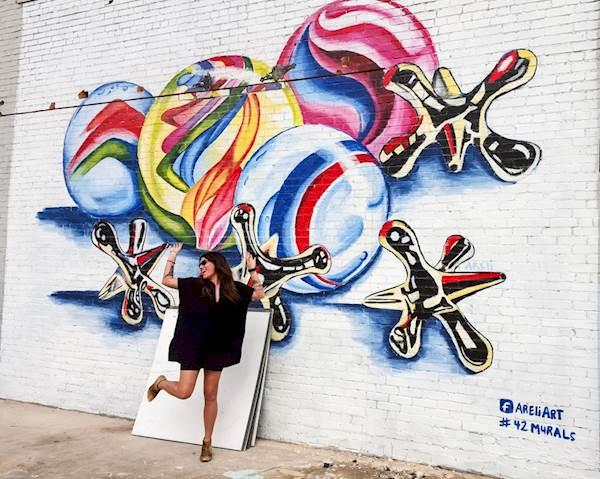 Photo: Hillary Juster Mural: Areli Duran