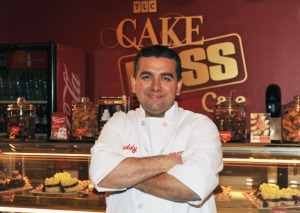 """NEW YORK, NY - MAY 12: Buddy Valastro, the """"Cake Boss"""" attends the grand opening of The Cake Boss Cafe at the Discovery Times Square Exposition Center on May 12, 2011 in New York City. (Photo by Slaven Vlasic/Getty Images)"""