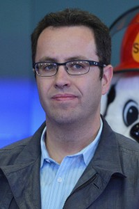 NEW YORK, NY - SEPTEMBER 23: Jared Fogle rings the closing bell at NASDAQ MarketSite on September 23, 2013 in New York City. (Photo by Slaven Vlasic/Getty Images)