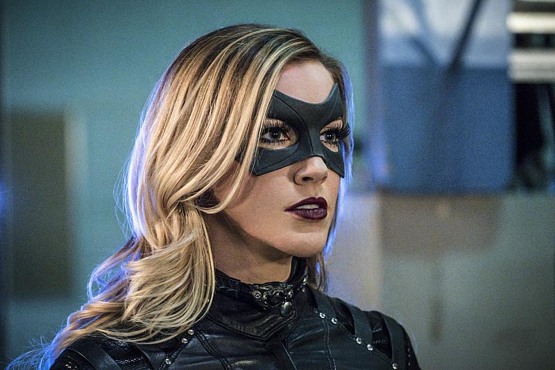Arrow -- Katie Cassidy as Black Canary Photo: The CW 2016
