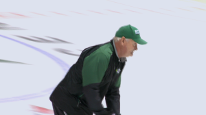 Lindy Ruff prepares to coach an NHL in the Stanley Cup playoffs for the 10th time.