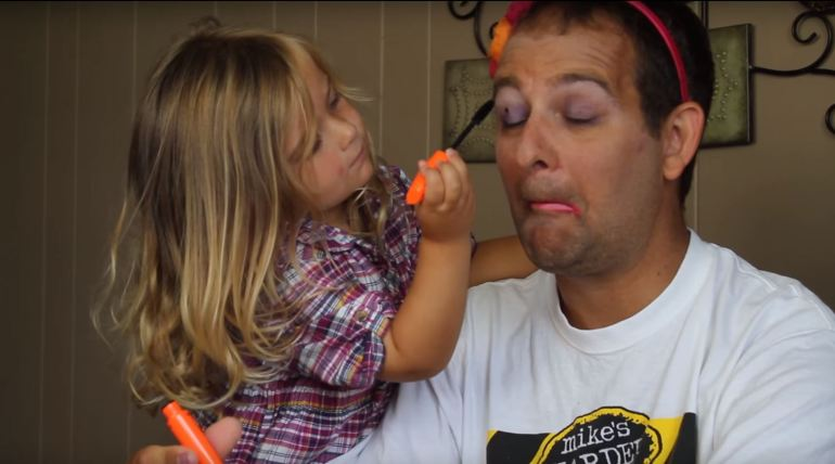 daddy daughter makeup