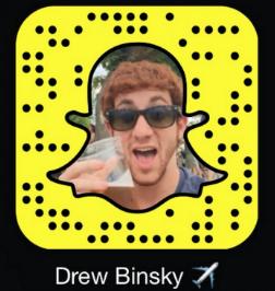Drew Binsky Snapchat