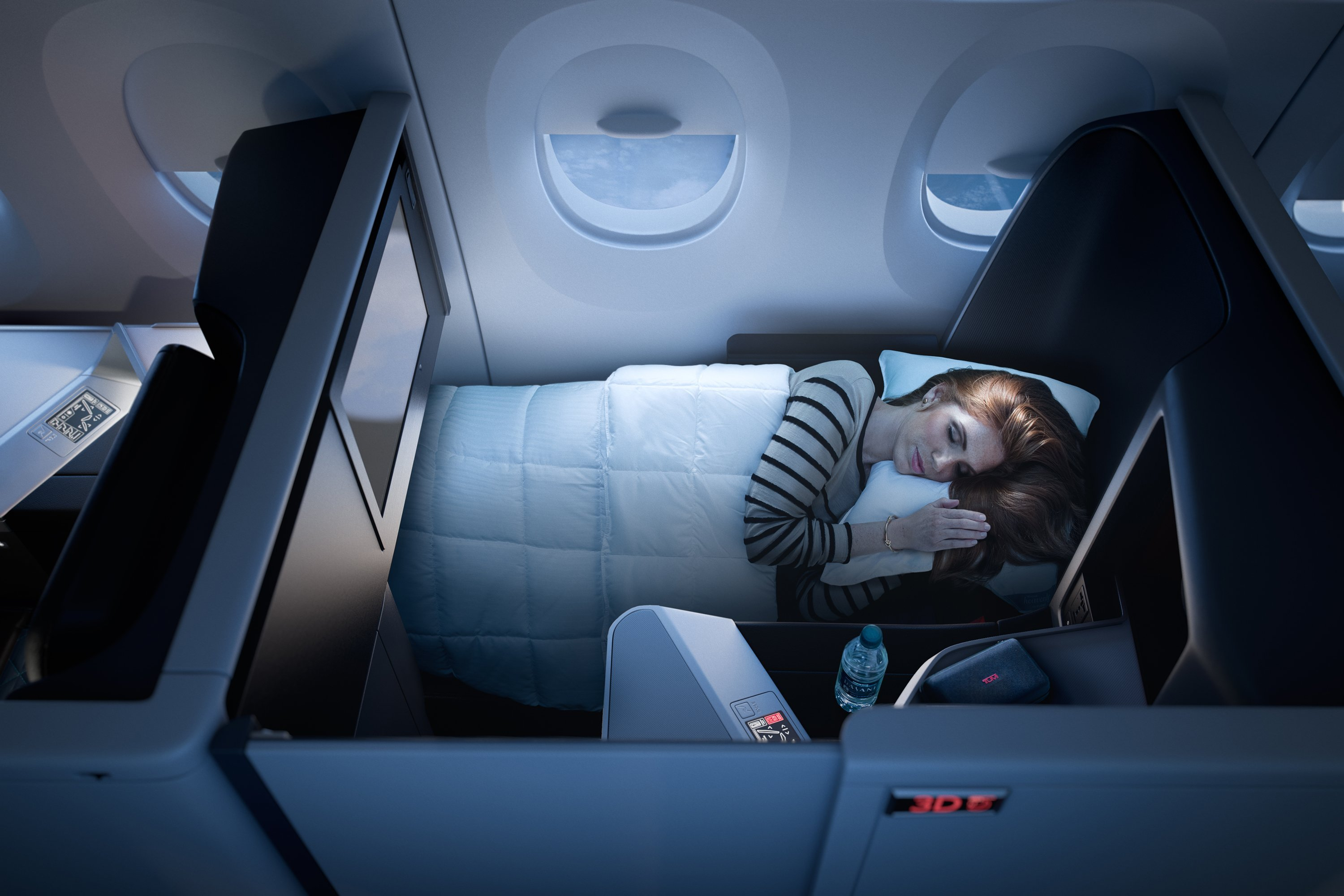 Delta is bringing a little more privacy -- and luxury-- to the skies.