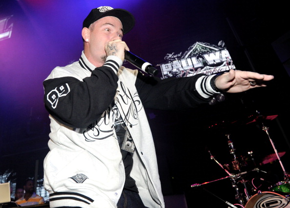 "LAS VEGAS, NV - JUNE 15: Rapper Paul Wall performs onstage during the BACARDI ""Like It Live"" Las Vegas event with Cee-Lo Green, Travis Barker and Mix Master Mike held at the Marquee Nightclub at The Cosmopolitan of Las Vegas on June 15, 2011 in Las Vegas, Nevada. (Photo by Ethan Miller/Getty Images for Bacardi)"