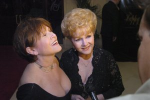 Debbie Reynolds, one of Hollywood's biggest stars in the 1950s and 1960s, passes away at age 84. Reynolds died the day after her daughter actress Carrie Fisher passed away. File-Debbie Reynolds and Carrie Fisher attended Elizabeth Taylor's 75th birthday gala in 2007. Full credit: Brian Jones/Las Vegas News Bureau