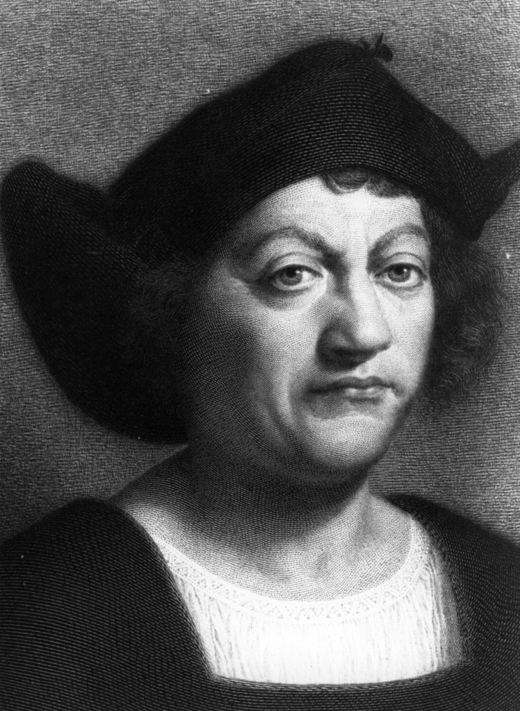 Circa 1500, Italian explorer Christopher Columbus. (Photo by Hulton Archive/Getty Images)